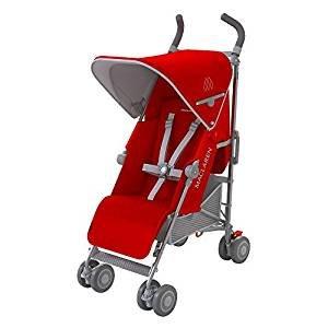 Maclaren quest stroller cardinal/slver £150 @mothercare