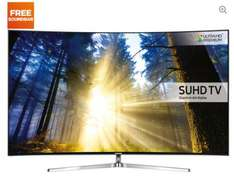 """SAMSUNG UE55KS9000 Smart 4k Ultra HD HDR 55"""" Curved LED TV  with free sound bar or  4k player IN STORE ONLY @ Currys - £1199.97"""