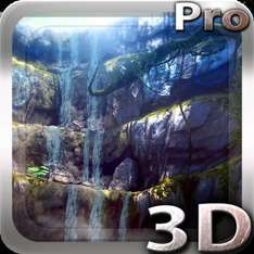 3D Waterfall Pro lwp (was 77p) now FREE @ Google Play Store