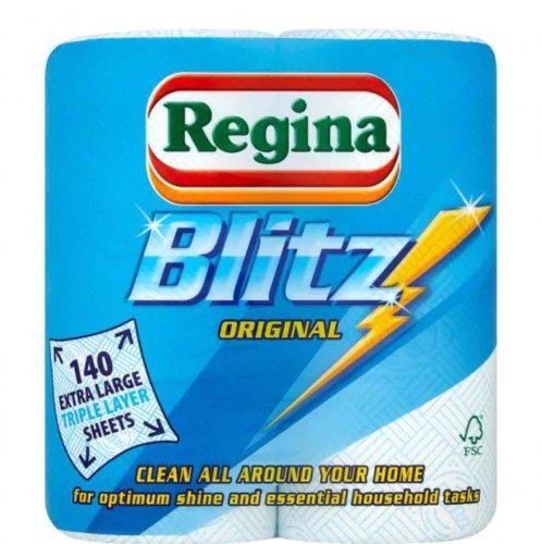 Regina Kitchen Towels Blitz 2 Rolls £2.00 in-store & online @ Tesco