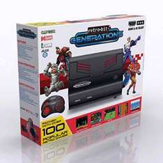 Retro Bit Generations Plug and Play Console with 100 Games £25.04 inc customs and shipping @ Amazon US