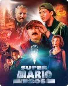 super Mario bros blu ray steelbook £9.99 @ Zavvi
