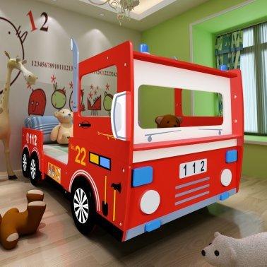 Children's fire engine bed £155 @ VidaXL (now £138.99)