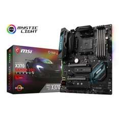 "MSI AMD X370 GAMING PRO CARBON AM4 ATX +FREE NZXT HUE+ +FREE Phanteks RGB Magnetic Strip +FREE GAME ""For Honor"" TCB/Quidco @ Ebuyer"