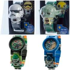 Yoda and Storm Trooper digital watch £6.50 each Nexo knight lego watches £10 @ John Lewis