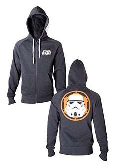 Star Wars Men's Stormtrooper Zip Hoodie £21.16 Sold by Made Ecommerce Ltd and Fulfilled by Amazon.
