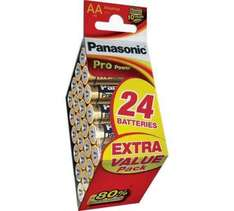 Panasonic Pro Power AA & AAA Batteries - 24 Pack each £5.99 Free C&C @ Argos