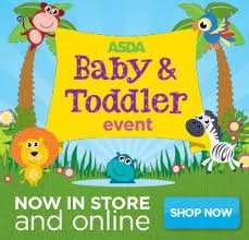 Reduced baby event items instore at Asda