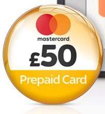Join Sky TV and get a £50 Prepaid Mastercard® to spend wherever you like