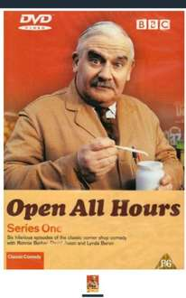 Open all hours. Series 1 complete. Delivered. £1.47 - Sold by best_value_entertainment and Fulfilled by Amazon