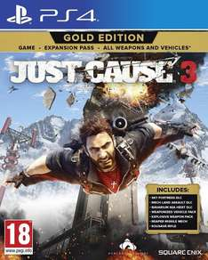 [PS4] Just Cause 3 Gold Edition (Import) - £19.95 (The Game Collection Via eBay)