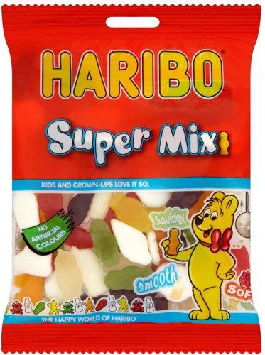 Haribo Starmix / Haribo Tangfastics /  Haribo Super Mix / Haribo Strawbs (160g) Offer price 50p, was 77p @ Morrisons