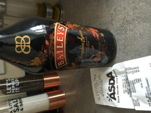 Baileys Pumpkin Spice Irish Liqueur 70cl Instore Asda Aberdeen £6.00