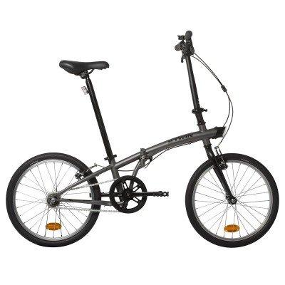 Hoptown single speed low maintenance folding bike - £129.99 (Free C&C) @ DECATHLON