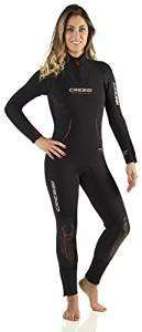 Cressi Lontra Plus, Women, All-In-One Wetsuit, Premium Neoprene 7mm - Cressi: Italian Quality Since 1946 RRP £260 - X Small only £51.81 @ Amazon