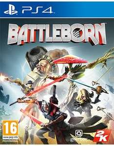 Battleborn PS4 (Pre-owned) £2.69 delivered @ Game