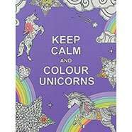 Keep Calm and Colour Unicorns £1.60 / Unicorn Pop Tape (7.5M + Other Themes) 80p with code C+C @ The Works