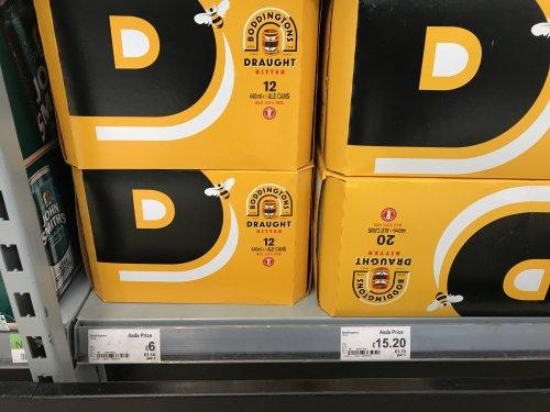 Boddingtons 12 x 440 ml - £6 instore @ Asda
