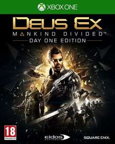 [Xbox One] Deus Ex: Mankind Divided - Day One Edition - £6.49 (PS4 - £6.99) - Go2Games (Base X1 - £5.99)