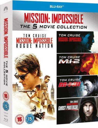 Mission Impossible - 1-5 Boxset Blu-ray  £9.99 @ Zavvi