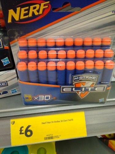 Nerf N-Strike Elite 30 Dart Refill Pack £6 @ morrisons