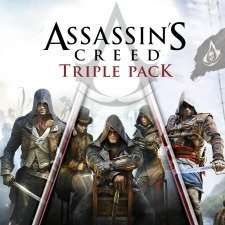 Assassin's Creed Triple Pack: Black Flag, Unity & Syndicate PS4 was £50.71 now £16.73 from Playstation Store Canada