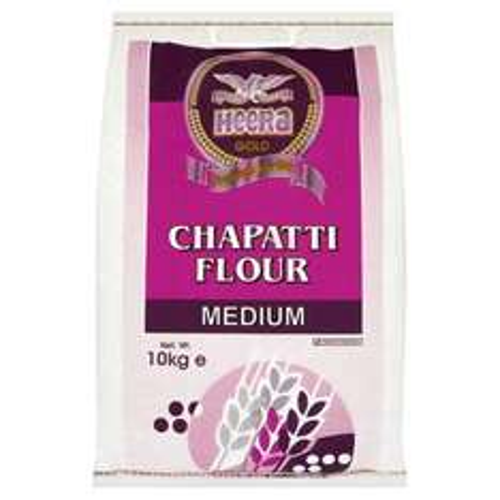 Heera Gold Chapatti Flour Medium 10Kg 2 for £5 @ Morrisons