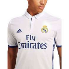 Real Madrid 2016/2017 Official Home Shirt + 6% cash back + free C&C £18.80 @ JD Sports