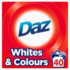 Daz 40 washes 2.6kg - £4.00 at Tesco