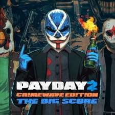 PAYDAY 2 - CRIMEWAVE EDITION - THE BIG SCORE Game Bundle (PS4) on PSN Store for £9.99 (Or normal Crimewave edition for £6.49)
