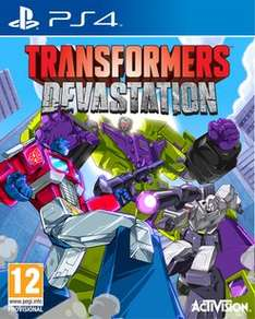 Transformers: Devastation - Exclusive Edition (PS4/Xbox One) £9.99 Delivered @ GAME