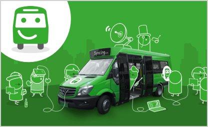 Free Citymapper bus service in london