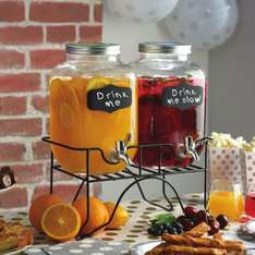 Twin Drinks Dispenser with Stand £9.99 In-Store and Online (£3.95 Delivery) @ The Range