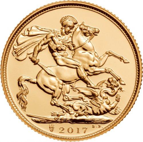 Box of 500 2017 Gold Sovereign Coins £117780.00 @ Bullionbypost
