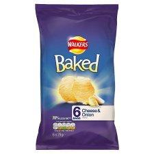 Walkers baked crisps 6 pack 90p @ Tesco