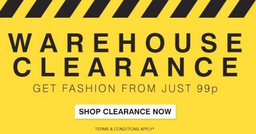 99p Clothing @ Bargaincrazy.com (£3.99 p&p)