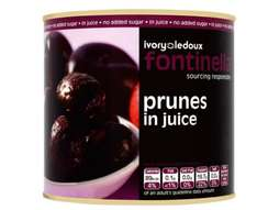 Fontinella Prunes in Juice 2.7 kg (Pack of 6) £13.72 (Prime) / £18.47 (non Prime) at Amazon
