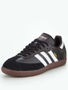 adidas Originals samba men's trainer £32 at very with code PASSITON free click n collect from your local