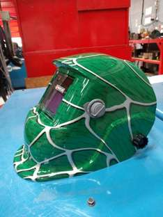 Welding hood. Fully automatic - £29.99 instore @ Lidl