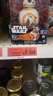 Star wars rip and go BB-8 - £7.50 at sainsburys reduced from £30