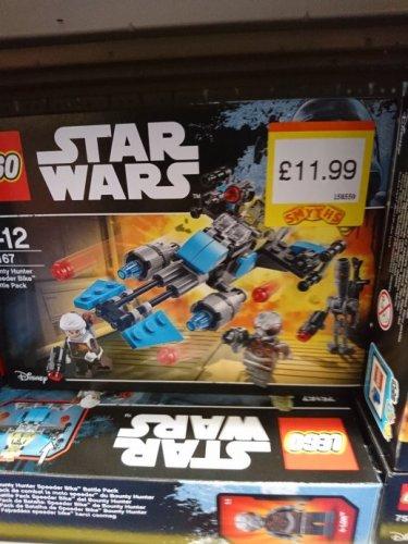 New lego star wars - £11.99 instore at smyths