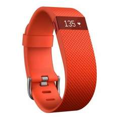 Fitbit Charge HR - Activity Tracker with Heart Rate Monitor - Large - Tangerine £59.99 - Cleverboxes