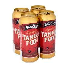 Badger TangleFoot (4 x 440ml) and Bombardier Golden Ale (4 x 500ml) £2.50 each @ ASDA