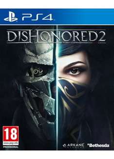 Dishonoured 2 for PS4 only £14.95 at Base