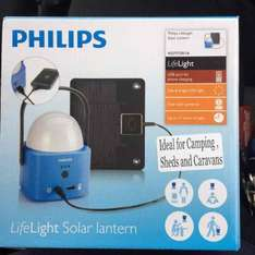 Philips Life Light Solar Travel Lantern £3.99 @ Homebargains