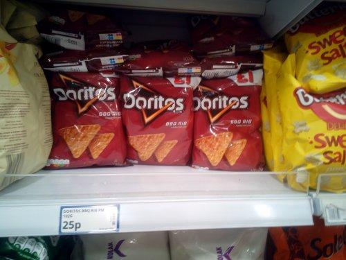 Doritos BBQ Rib (£1 bags) - 25p instore @ Poundstretcher