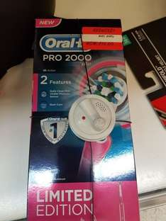 Oral B Pro 2000 Electric Toothbrush £15 reduced in Asda