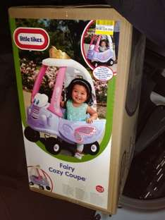 Little tikes cozy coupe/fairy coupe £25 instore at Tesco