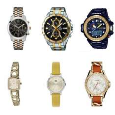 Radley Ladies Gold Plated Grosvenor Watch £39.99 / Casio Men's Edifice Two Tone Steel Watch £79.99 @ Watches2U (More models in OP- Poss extra 3% off)