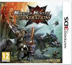 Monster Hunter Generations (Nintendo 3DS) £19.99 prime / £21.98 non prime @  Amazon